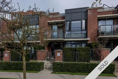 Cambie/Douglas Park Concrete Loft-style Townhome for sale: The Olive 1 bedroom 832 sq.ft. (Listed 2017-04-21)