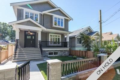 Vancouver Custom Home & Coach House for sale:  6 bedroom 3,899 sq.ft. (Listed 2018-04-06)