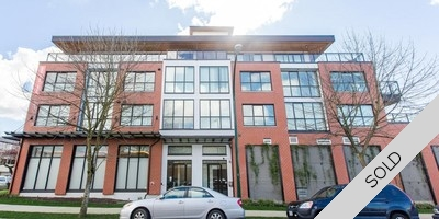 Fraser/Main Corridor Condo for sale:  1 Bedroom & Flex 568 sq.ft. (Listed 2017-04-01)