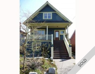 Vancouver East House for sale: Cedar Cottage 4 bedroom 2,529 sq.ft. (Listed 2009-04-28)