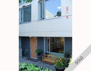 SOMA Townhouse for sale: UNO 2 Bedroom & Den 970 sq.ft. (Listed 2009-06-14)