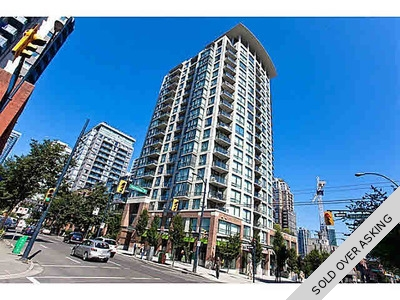 Yaletown Penthouse for sale: Freesia 1 Bedroom & Den 506 sq.ft. (Listed 2015-10-23)