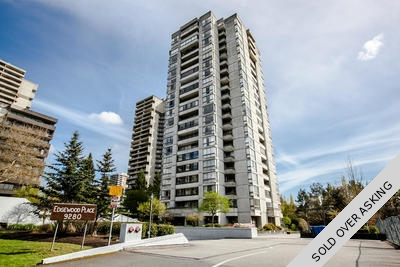 North Burnaby Sub-Penthouse for sale: Edgewood Place 1 Bedroom & Den 814 sq.ft. (Listed 2016-04-13)