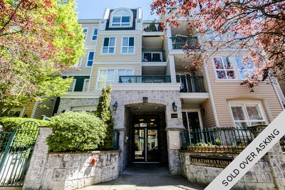Cambie Condo for sale: Heatherstone 2 Bedroom & Den 808 sq.ft. (Listed 2016-05-09)