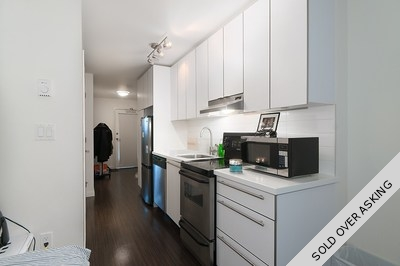 Downtown VE Condo for sale:  1 bedroom 431 sq.ft. (Listed 2016-09-14)