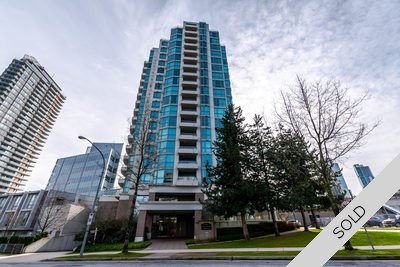Burnaby South Concrete Condo for sale: Spectrum 1 Bedroom & Den 844 sq.ft. (Listed 2017-03-07)
