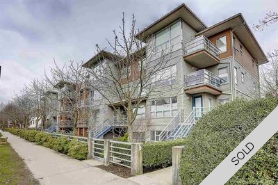 Kitsilano Condo for sale: Bridgewater 2 bedroom 746 sq.ft. (Listed 2017-04-14)