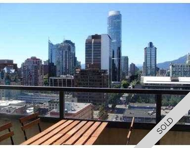 Yaletown Sub-Penthouse for sale: Mondrian 1 2 bedroom 850 sq.ft.