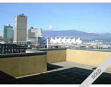 Gastown Penthouse for sale: Abbott Place 1 bedroom 857 sq.ft.
