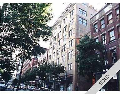 Gastown Penthouse for sale: Abbott Place 1 bedroom 738 sq.ft.