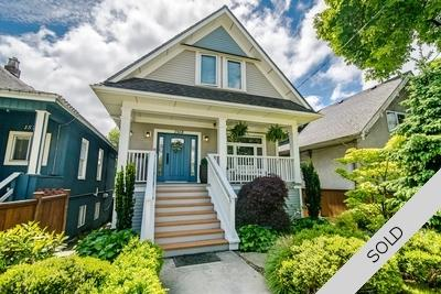 Commercial Drive Character House for sale:  5 Bedroom & Den 2,710 sq.ft. (Listed 2019-05-23)